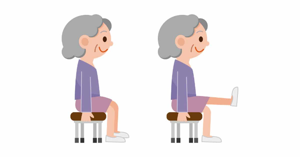 VIDEO Easy u0026 Effective 10 Minute Chair Exercises for Seniors - DailyCaring  sc 1 st  DailyCaring & VIDEO: Easy u0026 Effective 10 Minute Chair Exercises for Seniors ...