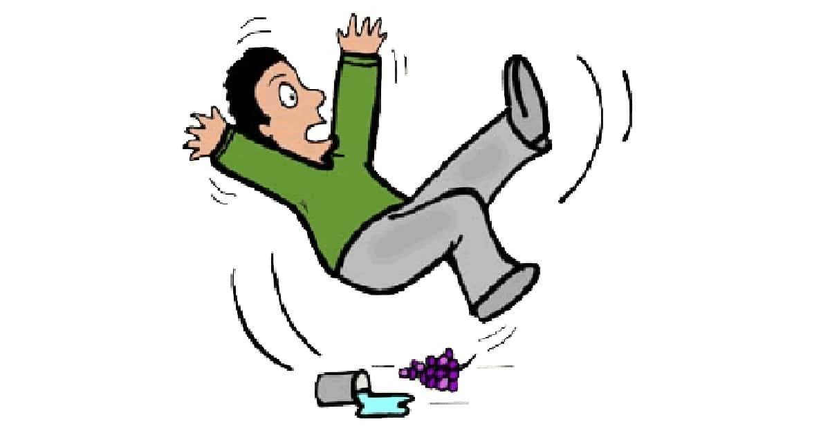 slip and fall clip art free - photo #46