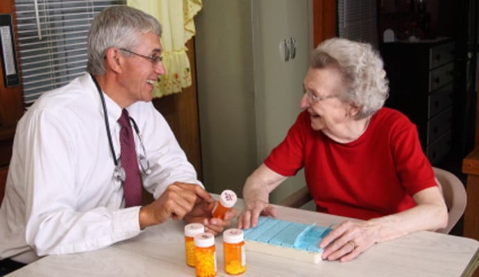 House Call Doctor Visits Make Life Easier For Seniors And