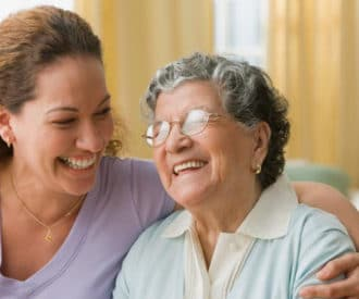 having an elderly parent move in with you