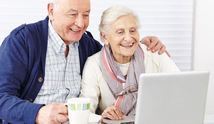 entertaining seniors at home